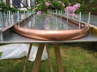 Souvent Fabriquer un panneau solaire thermique PX96